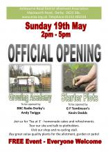 Official Opening - May 19th 2pm - 5pm